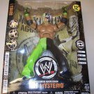 WWE Jakks Pacific MAXIMUM Aggression 12 Inch Series 1 REY MYSTERIO SUPER ARTICULATED Action Figure
