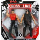 TNA Jakks Pacific Impact Wrestling Cross the Line Series 4 Hulk Hogan & Abyss Action Figure 2-Pack