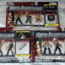 WWE Jakks Pacific Wrestling Micro Aggression Series 3 Complete Set of 9 Action Figures New
