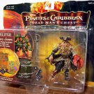 Pirates Of The Carribean 2 Deluxe Davy Jones with Flying Dutchman Barrel Table & Pirates Dice game