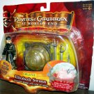 Disney Pirates Of The Carribean 3 Deluxe Elizabeth Swann with glowing Brethern Court globe & Swords