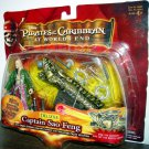 Pirates Of The Carribean 3 Deluxe Captain Sao Feng with Dragon Cannon & Singapore Weapons New