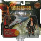 Disney Pirates Of The Carribean Series 1 Deluxe Shark Attack Pintel with Snapping Shark New