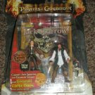 Disney Pirates Of The Carribean Secrets of The Deep Captain Jack Sparrow and Elizabeth Swann New