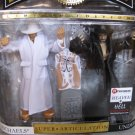 WWE Jakks Classic Deluxe Heaven & Hell Shawn Michaels vs Undertaker Action Figures - Exclusive