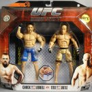 UFC 66 Series 3 Jakks Ultimate Battles: Chuck Liddell vs Tito Ortiz Deluxe Action Figure 2 Pack New