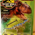 Kenner Jurassic Park The Lost World Dilophosaurus Action Figure Code Name Spitter Site B NEW