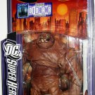 Mattel 2007 DC Super Heroes Select Sculpt Series 6 Clayface Action Figure with Diorama NEW