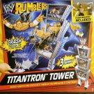 WWE Mattel Wrestling Rumblers Deluxe Triple Titantron Tower Launcher Evan Bourne Figure Included New