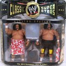 WWE Jakks Pacific Classic Series 3 Toys R Us Exclusive The Wild Samoans Afa & Sika Action Figures
