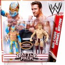 WWE Mattel Wrestling Battle Pack Series 15 Sin Cara & Daniel Bryan Action Figure 2-Pack New