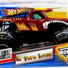 Mattel Hot Wheels Monster Jam 2011 El Toro Loco 1:24 Scale Die Cast Truck New