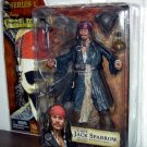 Pirates of the Caribbean Curse of the Black Pearl Series 1 Captain Jack Sparrow Action Figure New