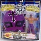 WWE Jakks Pacific Wrestlemania XX 20 Masked Series Rey Mysterio Action Figure with Mask New