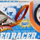 Hot Wheels Micro Camera Car Video Racer Playset with Silver Protective Action Case & Silver Car