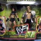 WWE WWF Wrestlemania 2000 Double Slam Series 4 Y2J Chris Jericho & Chyna Action Figure 2-Pack New
