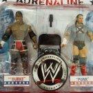 WWE Jakks Pacific Wrestling Adrenaline Series 28 CM Punk & Elijah Burke Action Figure 2-Pack New