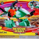 Fisher Price Rescue Heroes Bi-Pod Jet Vehicle New