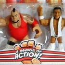 WWE Mattel Wrestling Rumblers Brodus Clay & Alberto Del Rio Action Figure 2-Pack New