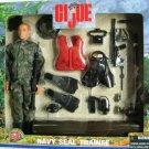 Hasbro GI Joe 12 inch Caucasian Navy Seal Trainee Action Figure with Accesories NEW