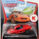 DISNEY PIXAR CARS 2 Movie K-Mart Exclusive Chase #8 Celine Dephare 1:55 Die Cast by Mattel New
