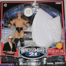 WWE Jakks Pacific Wrestlemania XXI 21 Exclusive Signature Gear JBL Figure & White Hat New