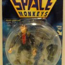 Mattel Captain Simian and The Space Monkeys CAPTAIN SIMIAN Action Figure with Accessories New