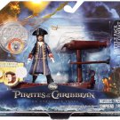Disney Pirates of the Caribbean 4 On Stranger Tides Battle Pack Captain Barbossa Playset New