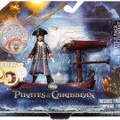 Disney Pirates of the Caribbean 4 On Stranger Tides Battle Pack Captain Barbossa Playset New