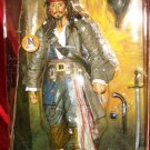"Disney Store Exclusive Pirates of the Caribbean Dead Man's Chest Jack Sparrow 15"" inch Action Figure"