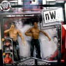 WWE Jakks Pacific NWO New World Order Icon vs Icon Hollywood Hulk Hogan vs The Rock Action Figures