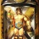 WWE Jakks Pacific Classic Superstars Series 7 Ultimate Warrior with Blue Heavyweight Title New