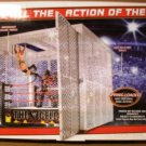 Mattel WWE Wrestling PPV Headquarters Toys R Us Exclusive The Cell Ring Playset New
