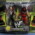 WWF Wrestlemania 2000 TitanTron Live Double Slam Series 2 Undertaker & Kane Action Figures New