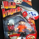 Mattel Rob Dyrdek's Wild Grinders Series 2 Lil Rob & Magnetic Board For Real Skate Action New