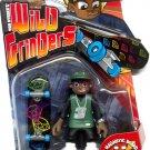 Mattel Rob Dyrdek's Wild Grinders Series 1 Jay Jay & Magnetic Board For Real Skate Action New
