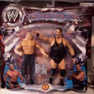 WWE Jakks Pacific Adrenaline Series 1 Real Scan Brock Lesnar vs Big Show Action Figure 2-Pack New