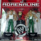 "WWE Jakks Pacific Adrenaline Series 22 Johnny & Mitch ""Spirit Squad"" Action Figure 2-Pack New"