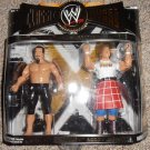WWE Jakks Exclusive Classic Series 11 Mr. Fuji & Rowdy Roddy Piper Action Figure 2 Pack New