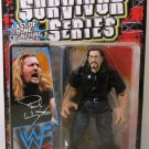 WWF WWE Jakks Pacific 1999 Survivor Series Signature Series 4 Blue Edition PAUL WRIGHT Action Figure