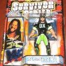 WWF WWE Jakks Pacific 1999 Survivor Series Signature Series 4 Blue Edition X-PAC Action Figure