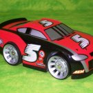 USED Fisher Price Shake 'n Go Racers! Nascar # 5 Black & Red Stock Race Car with Sound & Action