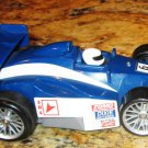 USED Fisher Price Shake 'n Go! SHIFTERS Formula 1 # 6 White & Blue Race Car with Sound & Action