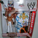 Mattel WWE Exclusive Match-Ups Rey Mysterio Action Figure + Mask [White, Yellow Cross]