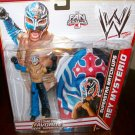 Mattel WWE Exclusive Match-Ups Rey Mysterio Action Figure + Mask Black & Blue, Red Cross]