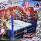 Mattel WWE Wrestling Fan Central K-Mart Exclusive Tribute To The Troops Ring New