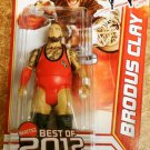 "Mattel WWE Wrestling Best of 2012 Series Brodus Clay "" The Funkasaurus "" Action Figure New"