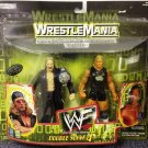 WWE WWF Wrestlemania 2000 Double Slam Series 4 Triple H & Gilly Gunn Action Figure 2-Pack New