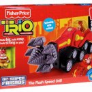 Fisher Price TRIO Building System DC Super Friends The Flash Speed Drill Rock Raider New
