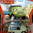 DISNEY PIXAR CARS 2 Movie Miles Axelrod #17 - 1:55 Die Cast by Mattel New